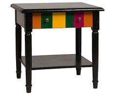 Журнальный столик Clozett - дерево, 55х61х60 см