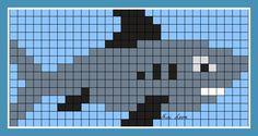 Image du Blog looms.centerblog.net Loom Bracelet Patterns, Loom Patterns, Beading Patterns, Cross Stitch Sea, Cross Stitch Animals, Fair Isle Knitting Patterns, Knitting Charts, Cross Stitch Designs, Cross Stitch Patterns