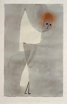 foldover showing other side....Paul Klee - Tanzstellung, 17B, 1935,71 (M 11).
