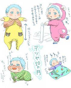 Tags: Anime, Pixiv Id 11657218, Kuroko no Basuke, Kuroko Tetsuya, Baby, 800x1000 Wallpaper