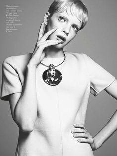 Sixties | Sophie Srej | Ishi #photography | Amica October 2011
