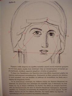 Byzantine Icons, Art Icon, Orthodox Icons, Painting Lessons, Religious Art, Ikon, Cool Drawings, Textbook, Mythology