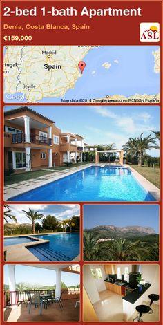 2-bed 1-bath Apartment in Denia, Costa Blanca, Spain ►€159,000 #PropertyForSaleInSpain