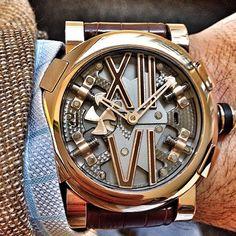Just a regular RJ romainjerome dress watch.