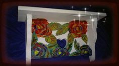 Hey, I found this really awesome Etsy listing at https://www.etsy.com/listing/473952883/wood-rose-shabby-chic-shelfpainted-roses