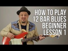 Guitar Lesson: How To Play Old School 12 Bar Blues EASY PART 1 Beginners The Chords Key E 145 - YouTube