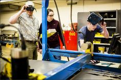 Manufacturing-Job Growth Prompts K-12 Training Effort