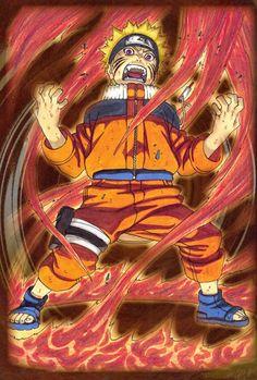 Masashi Kishimoto, Naruto, NARUTO Illustrations, Naruto Kyuubi Mode