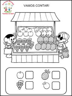 Kindergarten Math Worksheets, Teaching Math, Learning Activities, Preschool Activities, Kids Learning, Nursery Worksheets, English Activities, Math For Kids, Kids Education