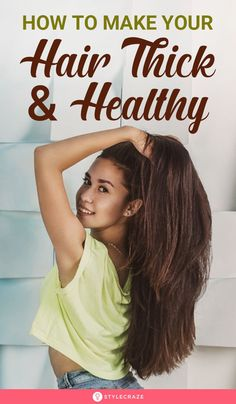 How To Make Your Hair Thick And Healthy - - When we watch Disney movies featuring Rapunzel or Cinderella, it is hard to take our eyes off their clothes and hairstyles. Make Hair Thicker, How To Make Hair, Tips For Thick Hair, Thick Curly Hair, Wavy Hair, Dyed Hair, Hair Spa Treatment, Spa Treatments, Film Disney