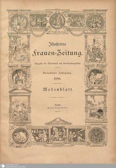 5 - Titel - Illustrierte Frauenzeitung - Seite - Digitale Sammlungen - Digitale Sammlungen