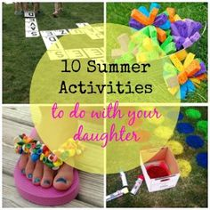10 Fun and Inexpensive Activities To Do With Your Daughter