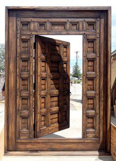 Stunning Door-Within-A-Door - La Puerta Originals, Stunning Door-Within-A-Door - La Puerta Originals.