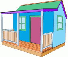 Learn how to build a playhouse for your kids. This is a collection of 31 free DIY playhouse plans with PDFs, videos, and instructions you can follow. #buildachildrensplayhouse