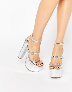 Image 1 of ASOS HI THERE Mega Platforms