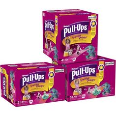Pull Ups are often needed. We have some kids in Virginia that are about to start potty training.