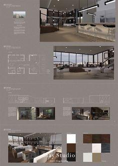 portfolio ideas for architecture Presentation Board Design, Interior Design Presentation, Architecture Presentation Board, Interior Design Portfolios, Studio Interior, Interior Sketch, Cafe Interior, Luxury Interior, Design Portfolio Layout