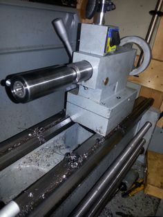 Home made die holder for lathe tail stock