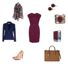 """""""OFF TO WORK"""" by rubio-mc on Polyvore featuring Christian Louboutin, Lalique, Viktor & Rolf, Original Penguin, DKNY and Studio"""