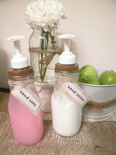 Containers for your Homemade Spa Remedies!