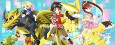 digimon adventure, anime, and kawaii εικόνα Digimon Fusion, Harley Quinn Comic, Digimon Adventure Tri, Comic Book Characters, Fictional Characters, Online Anime, Hetalia, Gotham, Disney