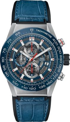 @tagheuer Watch Carrera Calibre Heuer 01 Automatic Chronograph Pre-Order #basel-17 #bezel-fixed #bracelet-strap-alligator #brand-tag-heuer #case-material-steel #case-width-43mm #chronograph-yes #date-yes #delivery-timescale-call-us #description-done #dia
