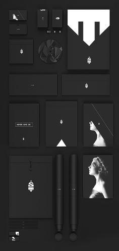 Personal branding by Simon Til, via Behance