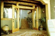 earthship interior