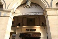 """""""Angelina"""" é uma das mais famosas casas de chá de Paris situada sob as arcadas da rue de Rivoli."""