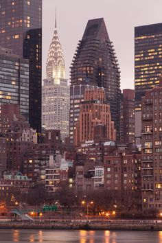 Chrysler Building Cityscape - Manhattan - New York City Photography