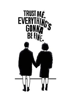 Trust Me. Everything's Gonna Be Fine. Fight Club Poster, Marla Singer, Fight Club Final Scene, Illus Trust Me. Everything's gonna be fine. Club Poster, Movie Poster Art, Film Posters, Fight Club Tattoo, Fight Club Quotes, Fight Club 1999, Fight Club Marla, Marla Singer, Tyler Durden
