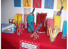 Samantha 's Birthday / Dr. Seuss - Photo Gallery at Catch My Party Monster Birthday Parties, Birthday Candy, Frozen Birthday Party, Mom Birthday, First Birthday Parties, First Birthdays, Birthday Ideas, Ice Cream Theme, Ice Cream Candy