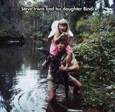 Like father, like daughter…