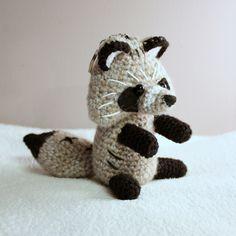 Jenot  #amigurumi #amigurumis #jenot #animal #raccoon #Nyctereutes procyonoides #szydełkowy #crochet