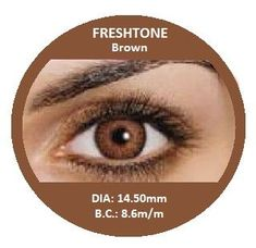 Buy Best Brown Contact Lenses from MyEyeColors.com | Fresh Tone Non Prescription Colored Contact Lenses at My Eye Colors