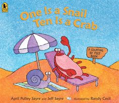 Booktopia has One is a Snail, Ten is a Crab, A Counting by Feet Book by April Pulley Sayre. Buy a discounted Paperback of One is a Snail, Ten is a Crab online from Australia's leading online bookstore. Teaching Numbers, Teaching Math, Kindergarten Math, Teaching Ideas, Elementary Teaching, Teaching Strategies, Teaching Addition, Math Place Value, Place Values