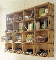 Old Apple Crates