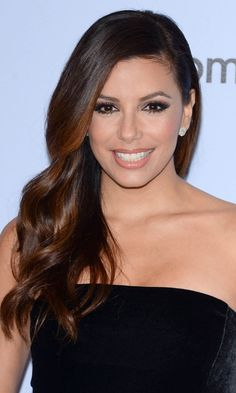 Glossy hair inspiration: Eva Longoria - Hair Extensions: Ideas And Inspiration | InStyle UK