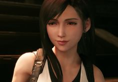 What Tetsuya Nomura Actually Said About Tifa's Breasts In The Final Fantasy 7 Remake Tifa Final Fantasy, Final Fantasy Vii Remake, Fantasy Series, Fantasy Art, Tifa Ff7 Remake, Deadpool, Tetsuya Nomura, Biker Wear, Cloud And Tifa