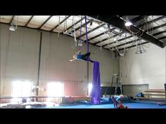 2:16 cool series out of turns, 3:45 single ankle hang with twists!