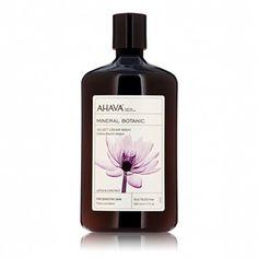 Unveil luminous, silky smooth skin with nourishing and calming AHAVA 'Lotus & Chestnut' Mineral Botanic Velvet Cream Wash for sensitive skin! citydrugsonline.com