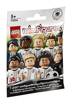 Lego minifigures édition limitée équipe de football d'allemagne La Mannschaft (1 modèle aléatoires): LEGO Minifigure German national soccer…