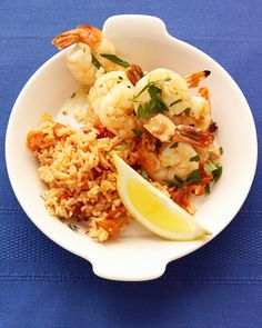 Broiled Shrimp Scampi: This is a great way to cook with less oil. A broiler heats from the top, so you need very little oil to prevent food from sticking to the cooking surface.