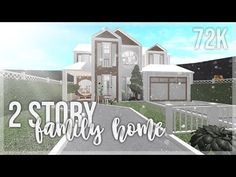 ⌜ 2 story family home ⌟ 🌷𝐢𝐧𝐟𝐨↴ ✧ 𝗏𝖺𝗅𝗎𝖾 - 𝖻𝖾𝖽𝗋𝗈𝗈𝗆𝗌 - 3 𝖻𝖺𝗍𝗁𝗋𝗈𝗈𝗆𝗌 - 1 ✧ 𝐠𝐚𝐦𝐞𝐩𝐚𝐬𝐬𝐞𝐬: 𝖺𝖽𝗏𝖺𝗇𝖼𝖾𝖽 𝗉𝗅𝖺𝖼𝗂𝗇𝗀, 𝗆𝗎𝗅𝗍𝗂𝗉𝗅𝖾 𝖿𝗅𝗈𝗈𝗋𝗌 💭𝖿𝗋𝖾𝗊𝗎𝖾𝗇𝗍𝗅𝗒 𝖺𝗌𝗄𝖾𝖽 𝗊𝗎𝖾𝗌𝗍𝗂𝗈𝗇𝗌↴ - what d. House Plans 2 Story, Two Story House Design, Family House Plans, Modern Family House, Home And Family, Home Building Design, Building A House, House Plans With Pictures, Modern House Floor Plans