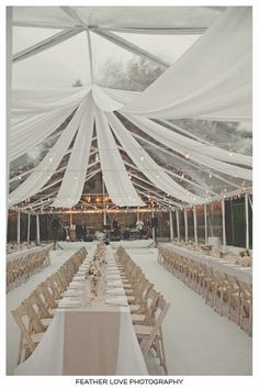 24 Cool Minimalist Wedding Decor Ideas ❤ minimalist wedding décor reception under white tent elegant stylish feather love photography Minimalist wedding decor can be in different styles. We have collected the best minimalist ideas in our gallery. Wedding Reception Layout, Wedding Draping, Wedding Venues, Wedding Ideas, Wedding Tables, Reception Ideas, White Tent Wedding, Modern Wedding Venue, Tent Reception