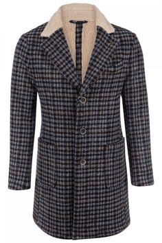 BOB Herren Wollmantel North Grau | SAILERstyle Bob, Shirts, Blazer, Women, Fashion, Grey, Jackets, Moda, Bucket Hat
