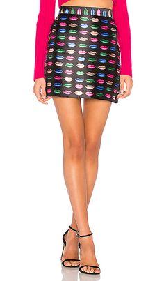 MILLY Kiss Modern Mini Skirt