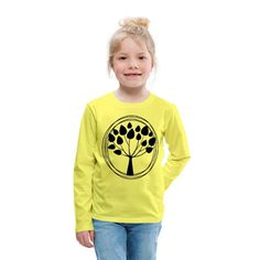 Geschenke Shop   Lebensbaum - Kinder Premium Langarmshirt Kind Mode, Babys, Graphic Sweatshirt, Sweatshirts, Sweaters, Fashion, Babies, Moda, Fashion Styles