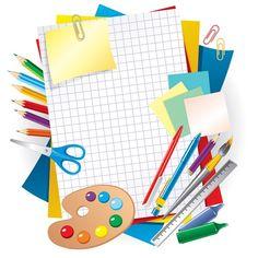 Set of School design elements vector 08