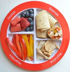 #myplate spanish fajita lunch
